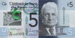 Clydesdale Polymer £5