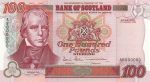 Bank of Scotland - £100 Tercentenary Series