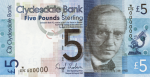 Clydesdale Bank World Heritage Series £5