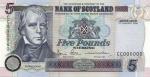 Bank of Scotland - £5 Tercentenary Series