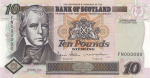 Bank of Scotland - £10 Tercentenary Series