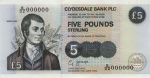 Clydesdale Bank - £5 Famous Scots Series