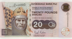 Clydesdale Bank - £20 Famous Scots Series