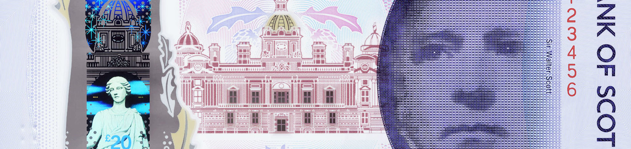 Bank of Scotland 20 front