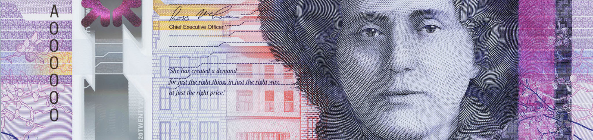 Royal Bank of Scotland 20 front